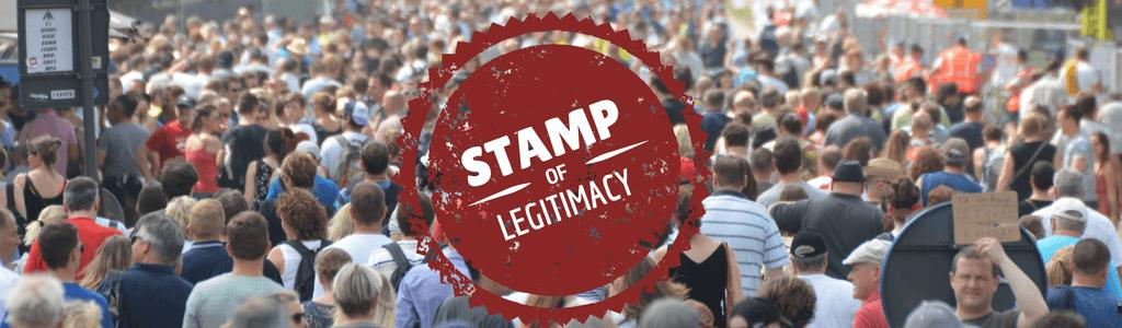 Get online legitimacy