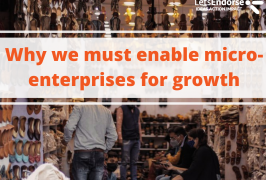 Why we must enable micro-enterprises for growth